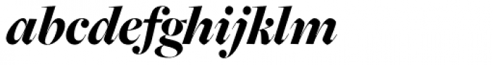 Freight Big Pro Black Italic Font LOWERCASE
