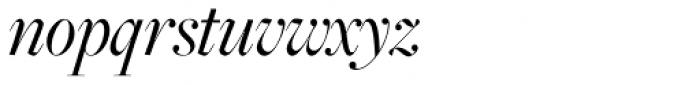 Freight Big Pro Book Italic Font LOWERCASE