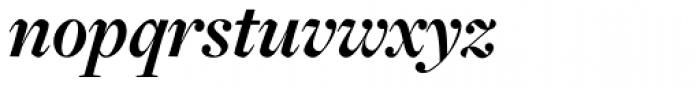 Freight Disp Pro Bold Italic Font LOWERCASE