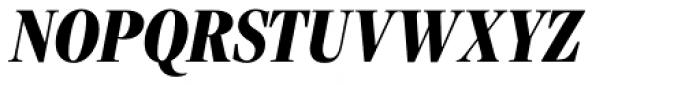 Freight Display Cmp Pro Black Italic Font UPPERCASE
