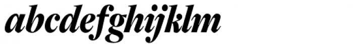 Freight Display Cmp Pro Black Italic Font LOWERCASE