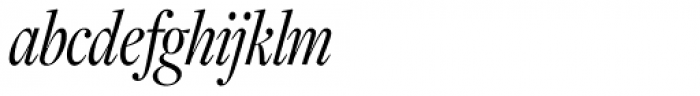Freight Display Cmp Pro Book Italic Font LOWERCASE