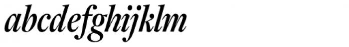 Freight Display Cmp Pro Semibold Italic Font LOWERCASE