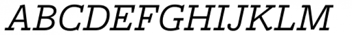 Freight Macro Pro Book Italic Font UPPERCASE