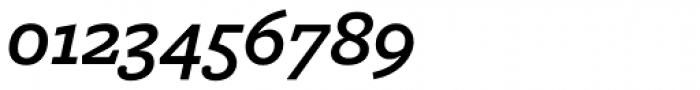Freight Macro Pro Semibold Italic Font OTHER CHARS