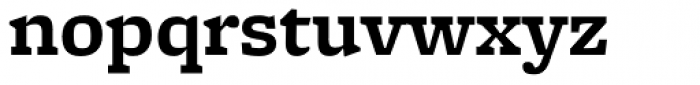 Freight Micro Pro Bold Font LOWERCASE