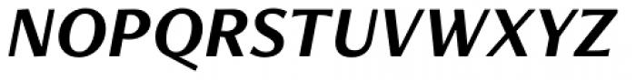 Freight Neo Pro Bold Italic Font UPPERCASE