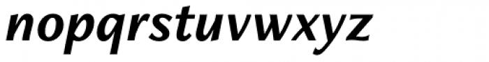 Freight Neo Pro Bold Italic Font LOWERCASE