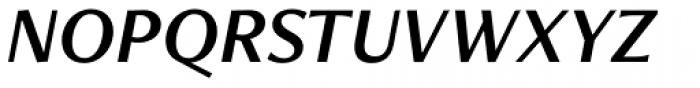 Freight Neo Pro Semi Italic Font UPPERCASE