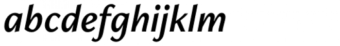 Freight Neo Pro Semi Italic Font LOWERCASE