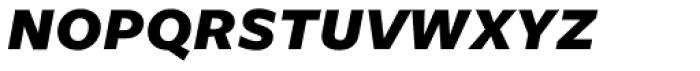 Freight Sans Bold Italic SC Font LOWERCASE