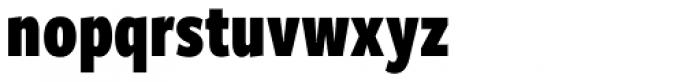 Freight Sans Compressed Pro Black Font LOWERCASE