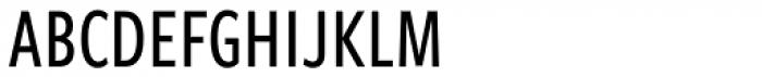 Freight Sans Compressed Pro Medium Font UPPERCASE