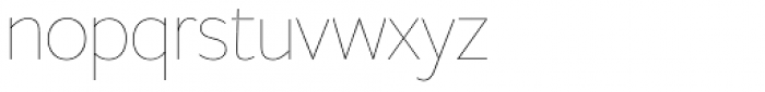 Freight Sans HPro Hairlines Hairline Font LOWERCASE