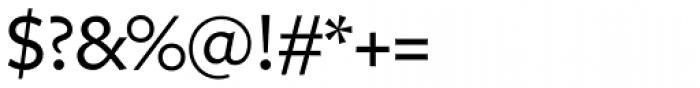 Freight Sans Medium Font OTHER CHARS