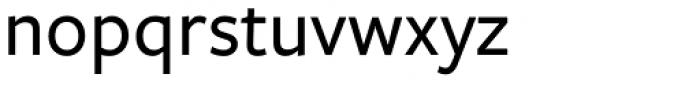 Freight Sans Medium Font LOWERCASE