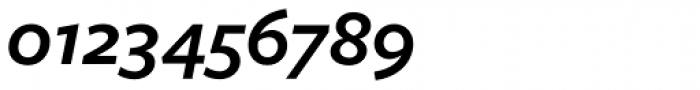 Freight Sans Pro SemiBold Italic Font OTHER CHARS