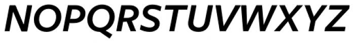 Freight Sans Pro SemiBold Italic Font UPPERCASE