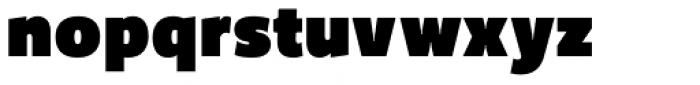 Freight Sans UPro Ultra Black Condensed  Font LOWERCASE