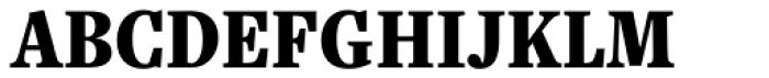 Freight Text Cmp Pro Black Font UPPERCASE