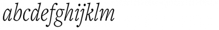 Freight Text Cmp Pro Light Italic Font LOWERCASE