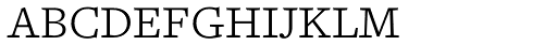 Freight Text Light SC Font LOWERCASE