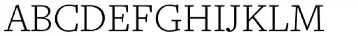Freight Text Light Font UPPERCASE