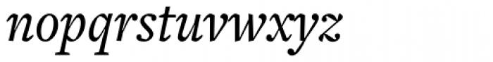 Freight Text Medium Italic Font LOWERCASE
