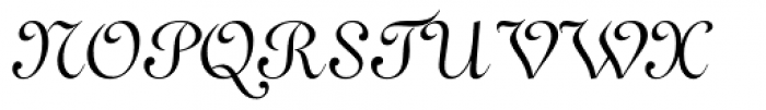 French 111 Font UPPERCASE