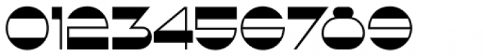 French Geometric JNL Font OTHER CHARS