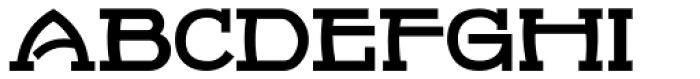 French Serif Moderne JNL Font UPPERCASE