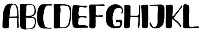 Fresh Hansler Capitals Font UPPERCASE