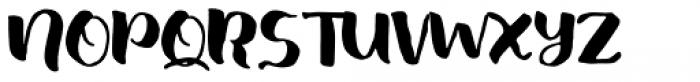 Fresh Hansler Regular Font UPPERCASE