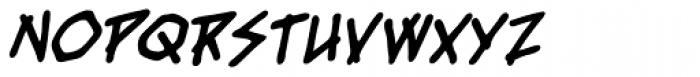 Fresh Meat BB Bold Italic Font LOWERCASE