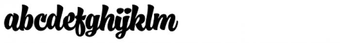 Fresh Press Bold Font LOWERCASE