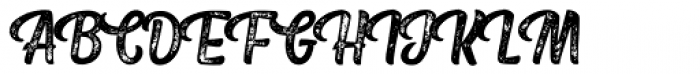 Fresh Press Caps Printed Font UPPERCASE
