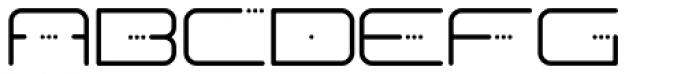 Fresh Font UPPERCASE