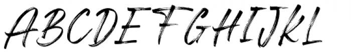 Freshline Regular Font UPPERCASE