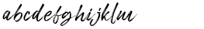 Freshline Regular Font LOWERCASE