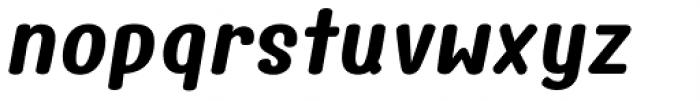 Freshy Bold Italic Font LOWERCASE