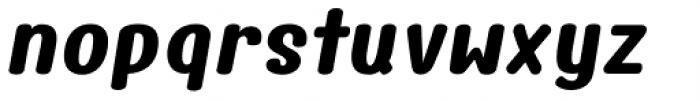 Freshy Extra Bold Italic Font LOWERCASE