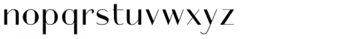 Friandise Normal Font LOWERCASE