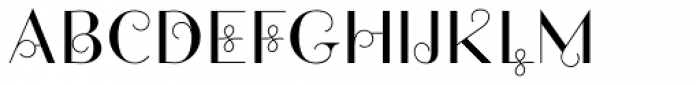 Friandise Swash Font UPPERCASE