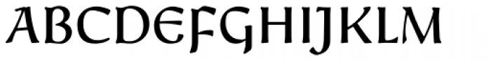 Friar Pro Font UPPERCASE
