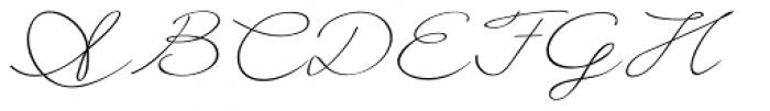 Frieda Font UPPERCASE