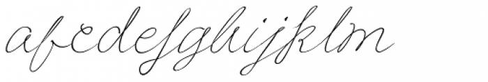 Frieda Font LOWERCASE