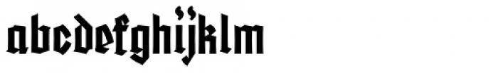 Friedrichsfeld Bold Expanded Font LOWERCASE
