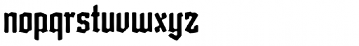 Friedrichsfeld News Round Font LOWERCASE