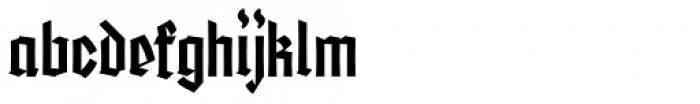 Friedrichsfeld Regular Font LOWERCASE