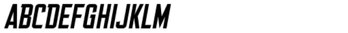 Friend Or Foe Tall BB Italic Font UPPERCASE